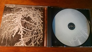 Hordes cd insert lansing punk metal