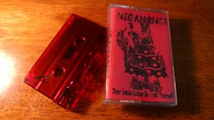 Neganance cassette diy michigan grind core metal